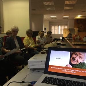 Održano interaktivno predavanje o tjelesnoj aktivnosti u udruzi DUSAB