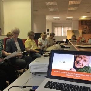 Interaktivna predavanja o tjelesnoj aktivnosti za starije osobe