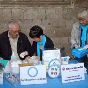 Svjetski dan dijabetesa 2013. obilježen na Stradunu