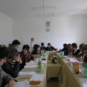 Radni sastanci s dionicima u projektu Umrežavanje čimbenika prevencije u gradu Ploče