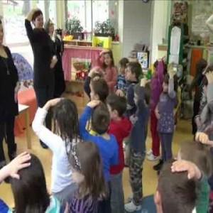 Vježbe s djecom u vrtiću