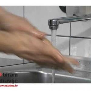 Pravilno pranje ruku upute
