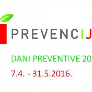 DANI PREVENTIVE 2016. - Znanjem do preventive