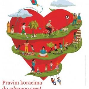 Svjetski dan srca 2013. - Pravim koracima do zdravog srca