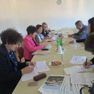Radni sastanak u sklopu projekta Umrežavanje čimbenika prevencije u gradu Ploče