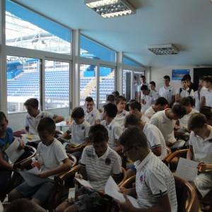 Podučili smo i juniore VK Jug kako se zaštiti od sunčevih zraka za vrijeme treninga