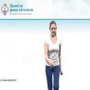 Vježba križno hodanje